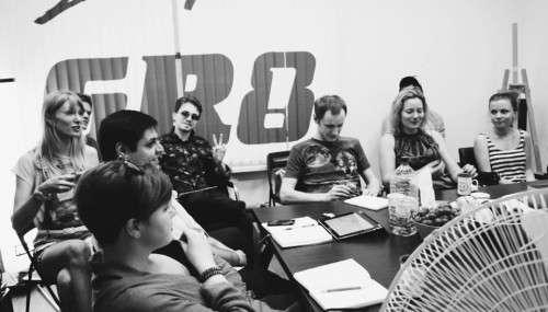 Посетители лекции об авторском праве в GR8 совместно с Insimple.ru