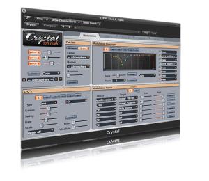 Freeware бесплатный синтезатор. Многослойный и интересный возможностями модуляции!