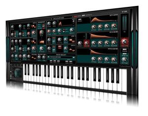 Бесплатный синтезатор с характером. Осторожней с секцией эффектов! Можно найти много ГРОМКИХ открытий.
