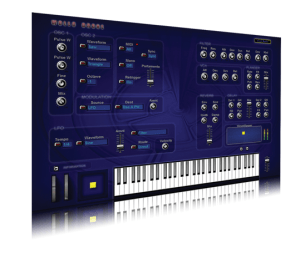 Бесплатный VSTi синтезатор с очень атмосферным звучанием!