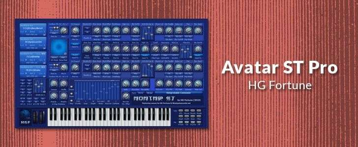 Avatar ST Pro (free VSTi plug-in) by HG Fortune