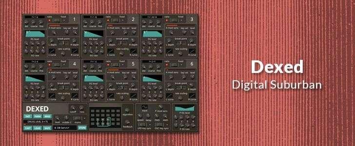 Dexed (VST plug-in) by Digital Suburban