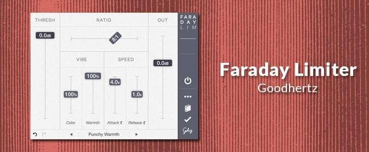 Faraday Limiter (AU plug-in) by Goodhertz
