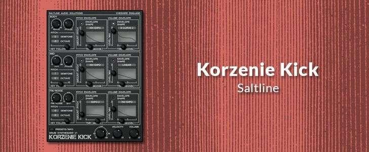 Korzenie Kick (free VSTi plug-in) by Saltline