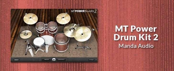 MT Power Drum Kit 2 (VSTi/AUi plug-in) by Manda Audio