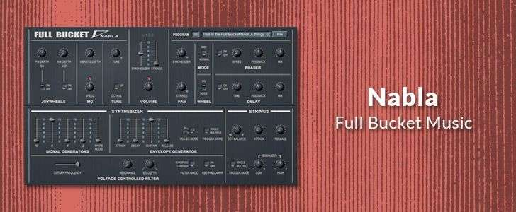 Nabla (free VSTi plug-in) by Full Bucket Music
