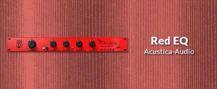 Red EQ (VST/AU plug-in) by Acustica-Audio