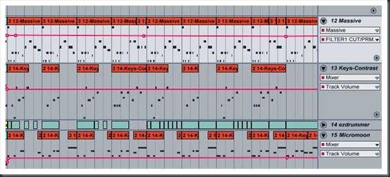 Динамическое развитие мелодии