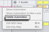 Удаление автоматизации
