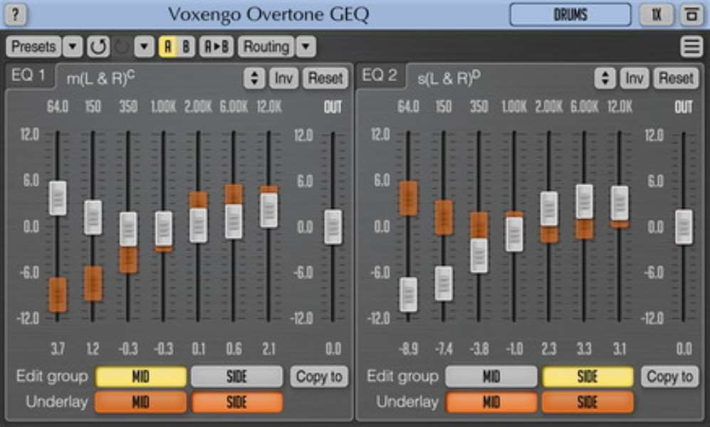 Voxengo Overtone GEQ