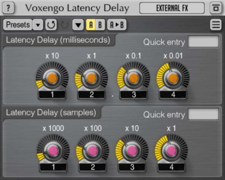 Voxengo Latency Delay