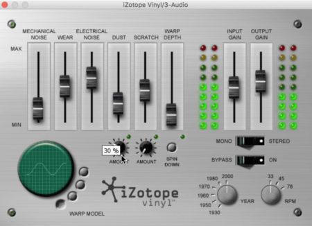 iZotope Vinyl скачать